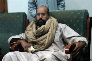 Hijo de Gadafi será enjuiciado en Libia
