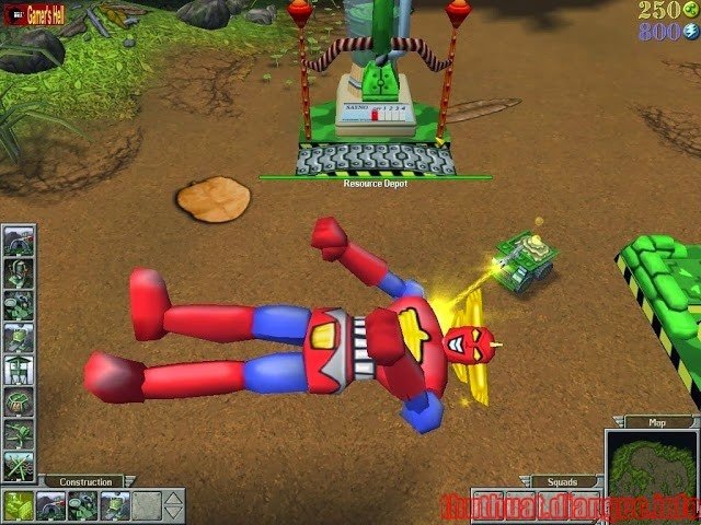 Download Game chiến thuật Army Men RTS