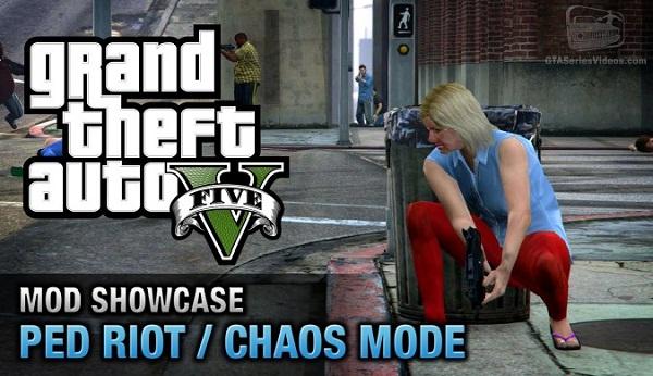 MOD Ped Riot/Chaos Mode V.0.6.7