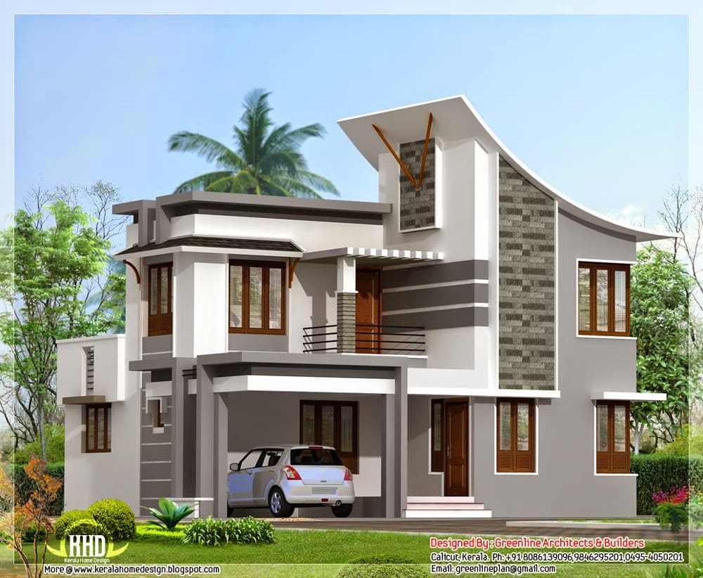 Modern Home Designs 2 Floor