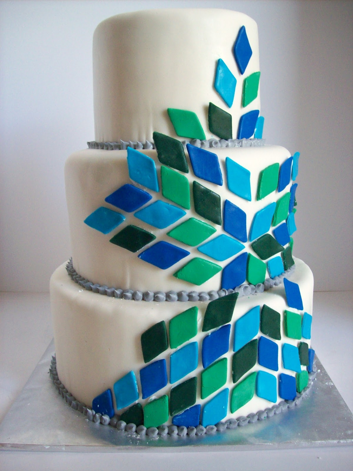 sab cakes modern boy baby shower cake