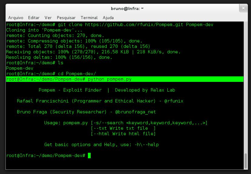 una vez logeado en 0e9l, es instalar un rootkit, el cual