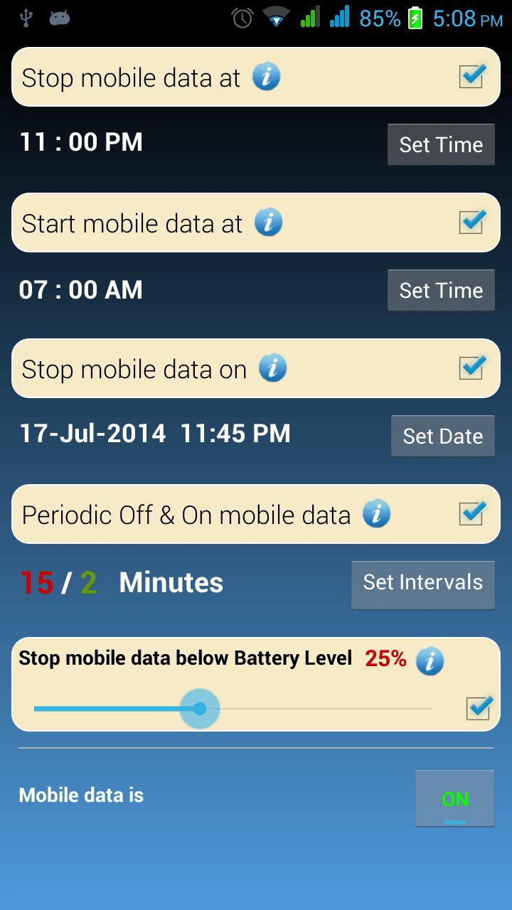 Data Timer