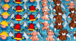 Mini cupcakes decorados Pequeno Príncipe: raposa, príncipe, avião, ovelha