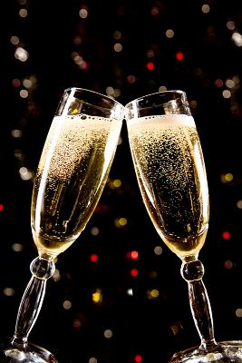 special champagne toast