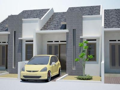Desain Rumah Minimalis Mungil 1 lantai Terlihat Mewah