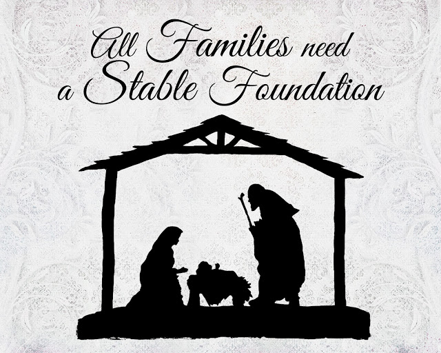found another Nativity today! Check out this free print over at A ...
