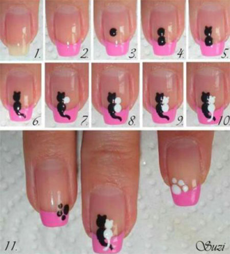 Nail Art Tools And Geting Nailart Done From Salon Is Expensive So Here Are Some Easy Designs Which You Can Do At Home With Simple Techniques