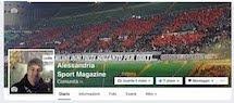 "Nasce su facebook ""Alessandria Sport Magazine"""