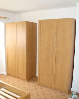 Montando muebles armarios roperos for Armarios roperos