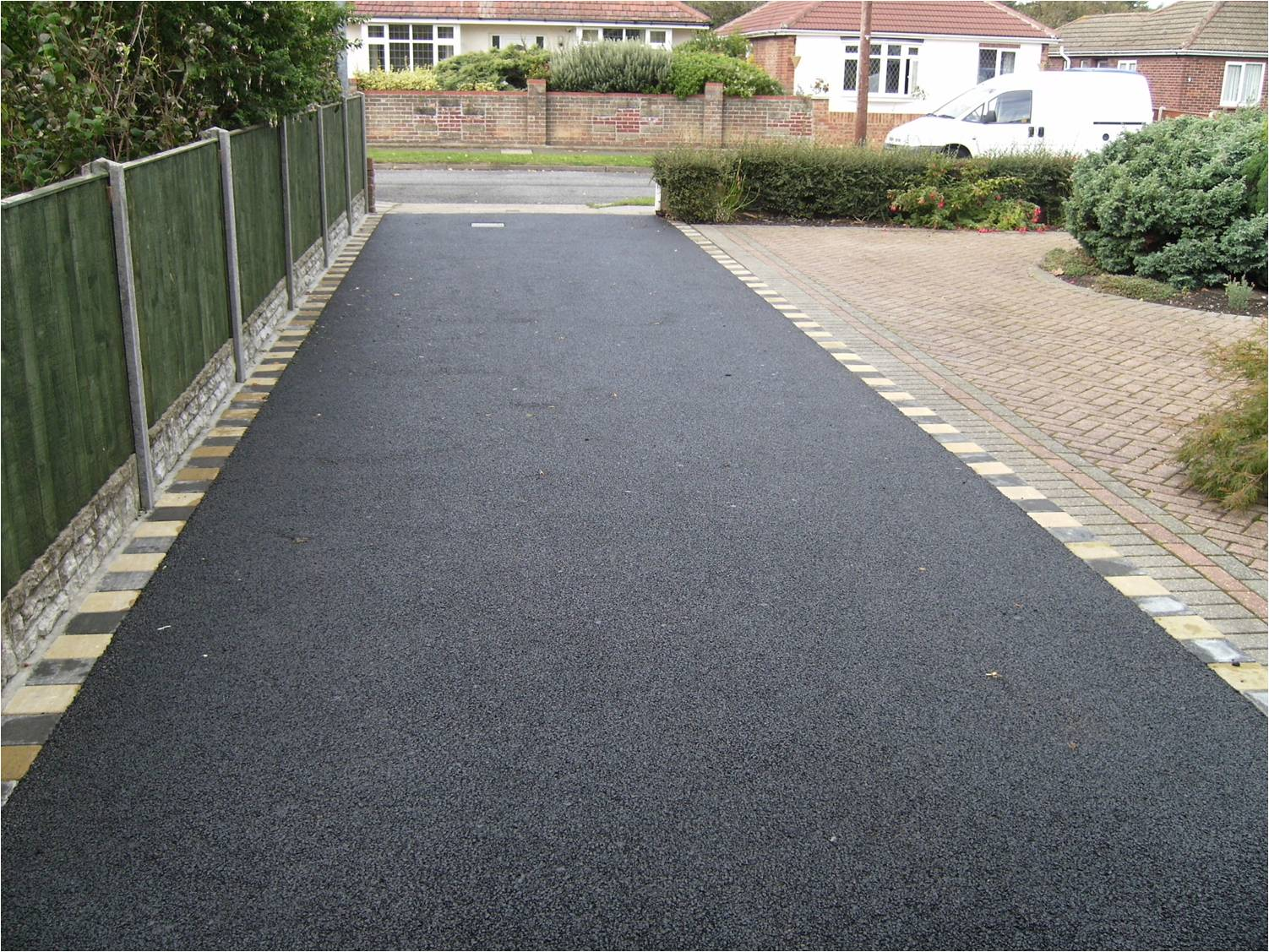 Rubber Tire Tracks On A New Concrete Driveway Page 2