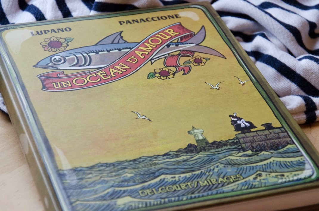 Lupano - Panaccione  -Un ocean d'amour  - BD - avis