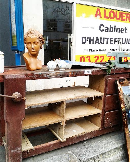 Etabli / Brocante Amiens / Octobre 2015 / Photos Atelier rue verte /
