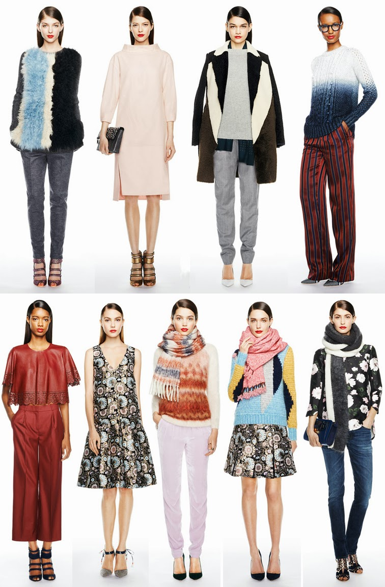 J.Crew fall winter 2014 collection, NYFW presentation, fashion week