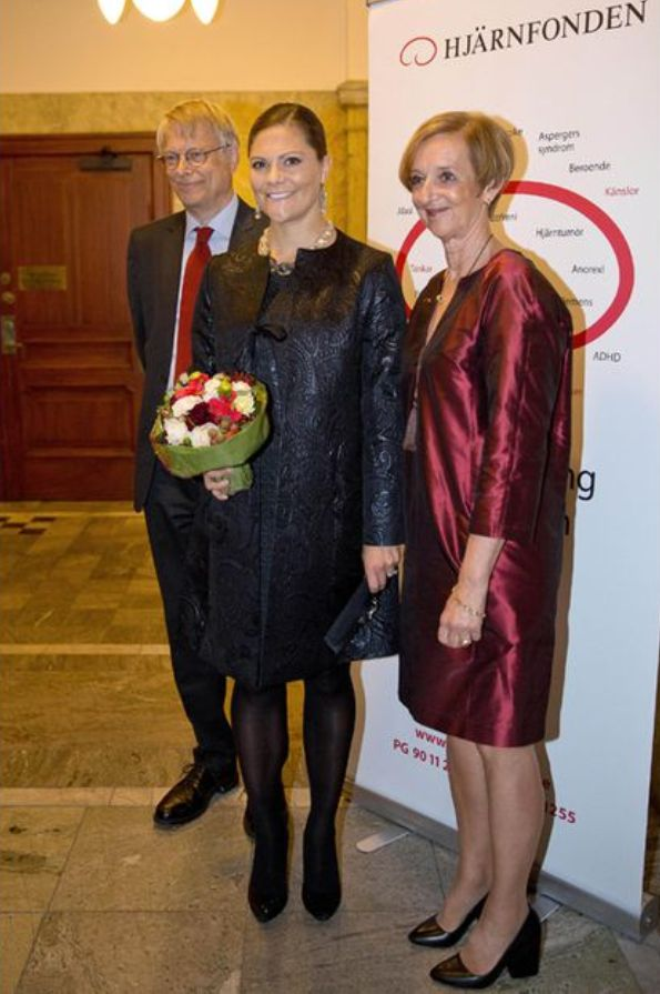 Princess Victoria At The Swedish Brain Foundation's Anniversary