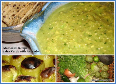 Glamorosi Recipe: Salsa Verde with Avocado