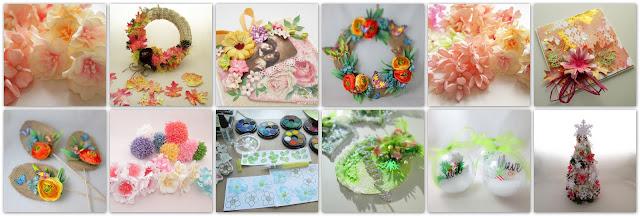 diy květinky a dekorace domova