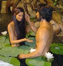 Lukisan Adam dan Hawa sebagai manusia pertama
