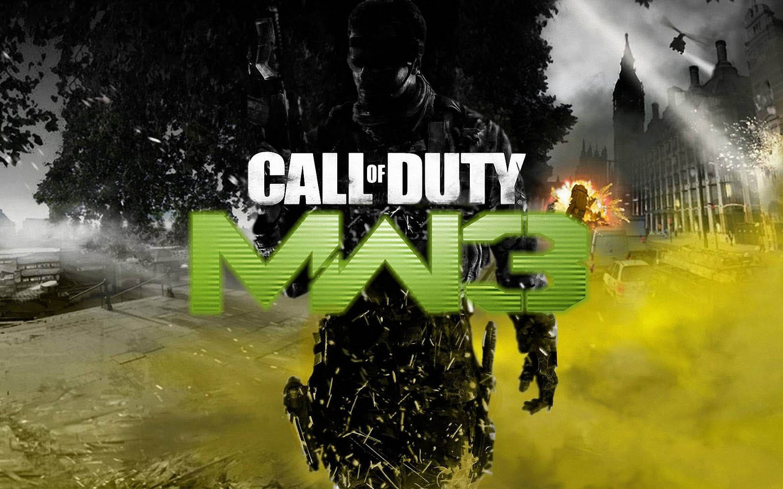 HOT 2013 Popular Call Of Duty Modern Warfare 3 Game Wallpapers