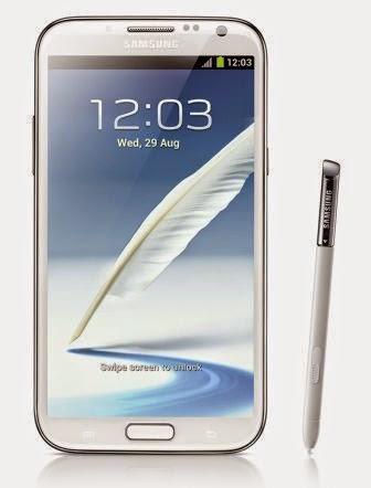 Samsung Galaxy Note 2 akan mendapatkan update Android Lollipop