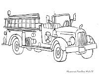 Gambar Mobil Truk Pemadam Kebakaran