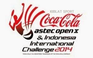 Jadwal Astec Indonesia International Challenge 2014