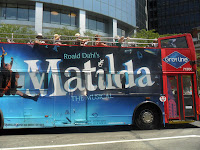 Matilda, musical, New York, ROald Dahl