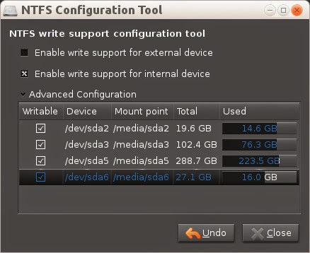 NTFS Configuration Tool