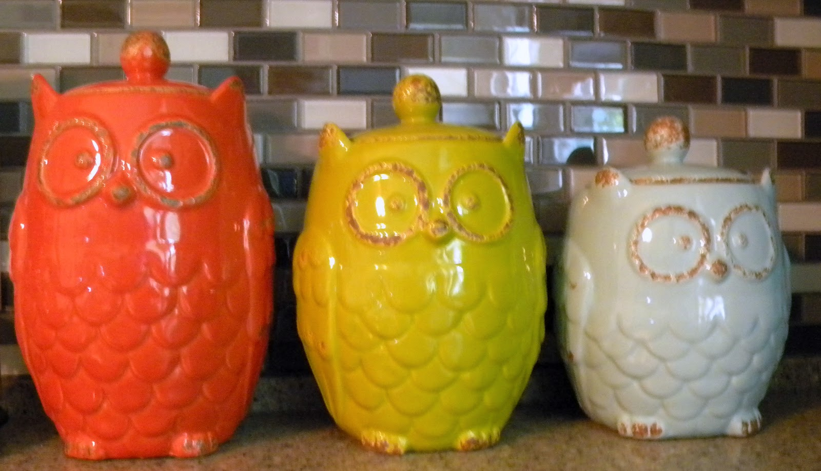 me and my crafties more owls in my house