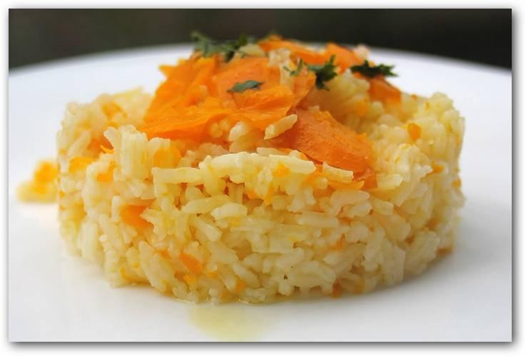 Salteado de arroz zanahoria y cebolla - Salteado de arroz ...