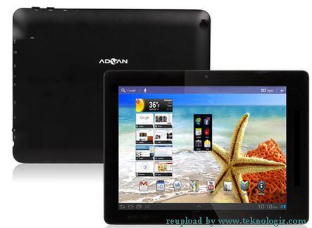 Advan Vandroid T3i Tablet Android ICS harga 2 jutaan - www.teknologiz.com