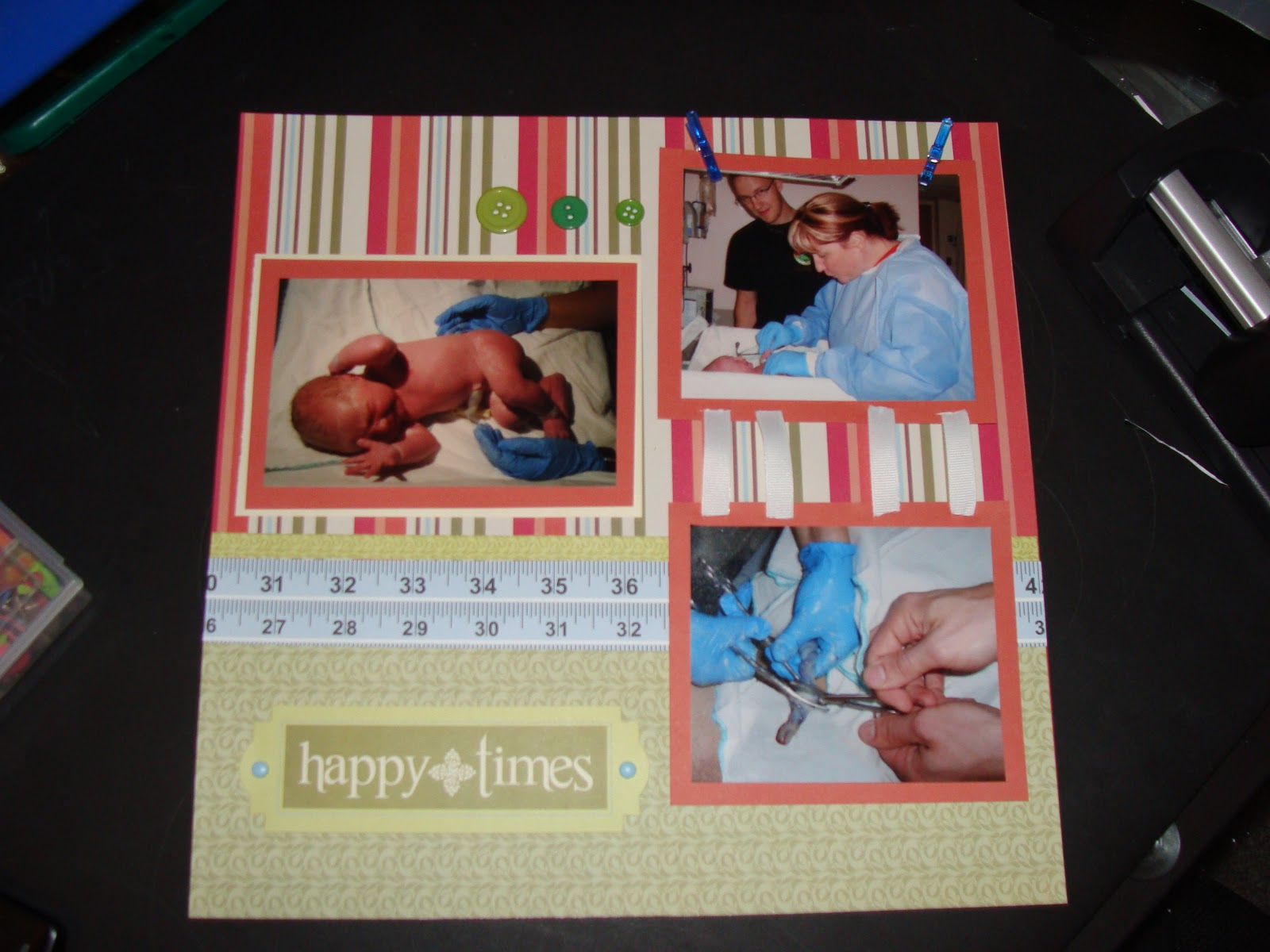 Scrap 4u Baby Scrapbook Layouts