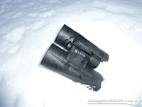 Eden Quality Fernglas im Schnee
