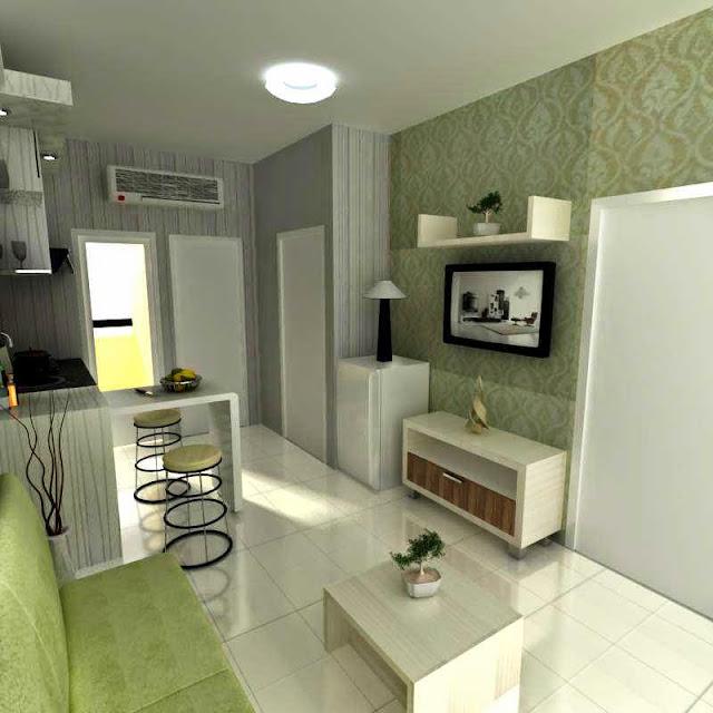 foto interior apartemen kecil