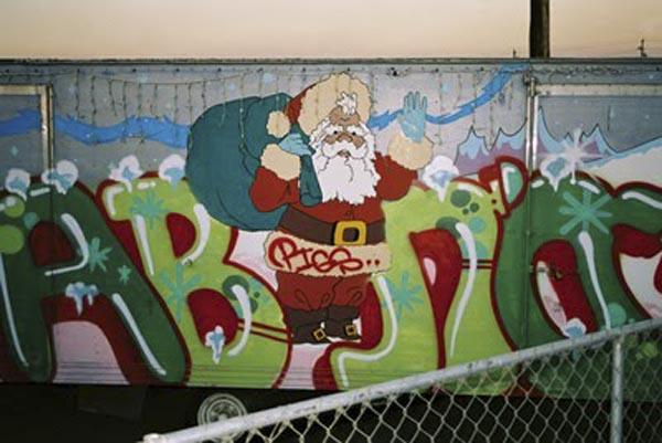 Santa Christmas Graffiti Art Graffiti Tutorial
