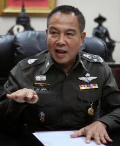 Polizeichef Somyot Thailand