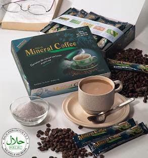 Mineral Coffee mengandungi 76 mineral untuk kesihatan tulang