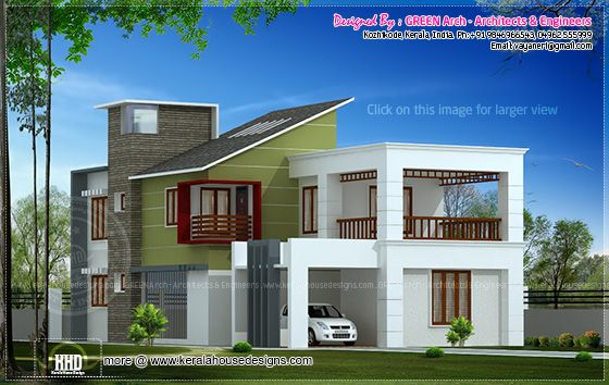 2100 sq-ft villa design