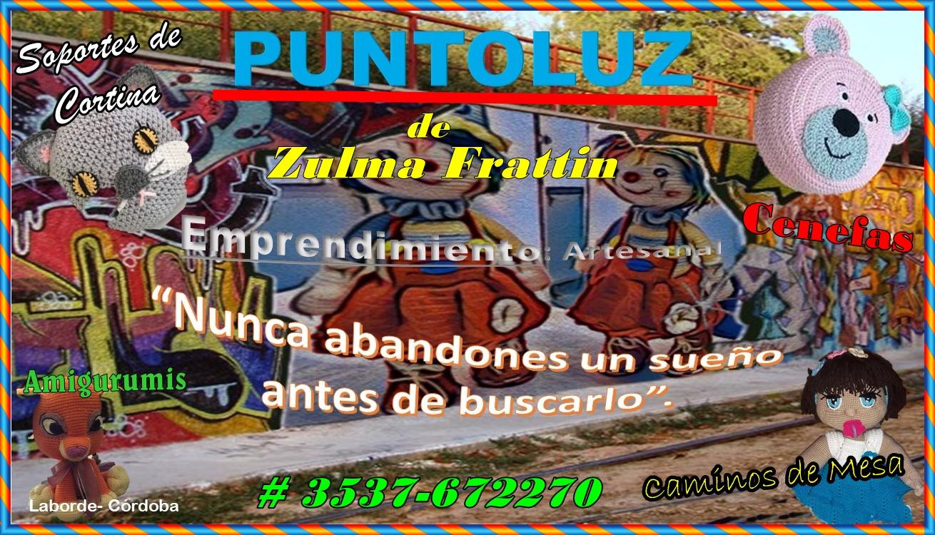 """PUNTO LUZ"" - EMPRENDIMIENTO ARTESANAL de Zulma frattin"