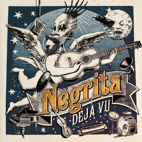 Negrita - Déjà Vu - copertina tracklist testi video download