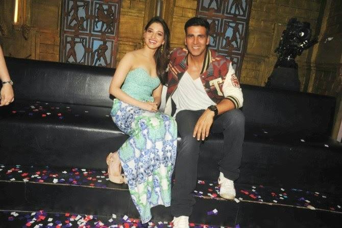 Tamanaah Bhatia and Akshay Kumar
