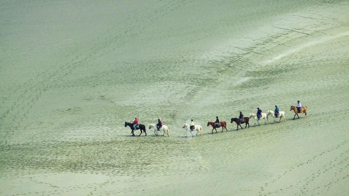 Mont Saint Michel - Balade à cheval