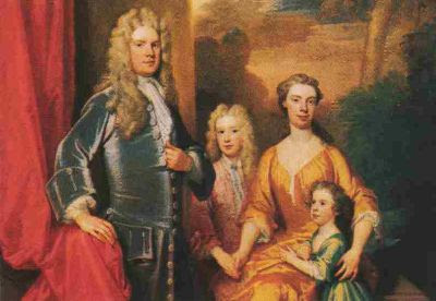 The Chandos Family by Godfrey Kneller, 1713