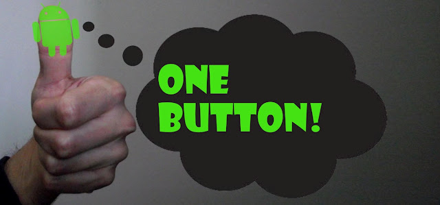 One button header title