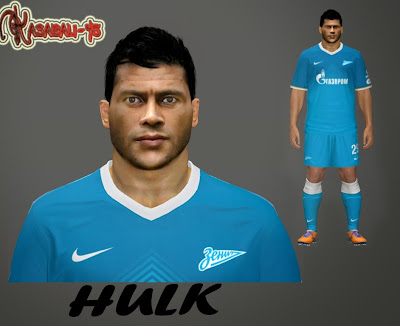 PES 2014 Hulk Face by Kasabali-45