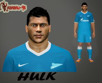 PES 2014 Hulk Face by Kasabali-45