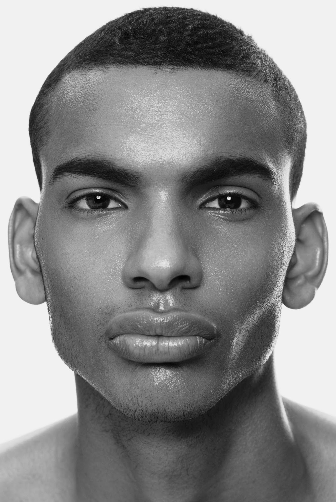 The Perfect Human Face The Ethiopians Somalians And