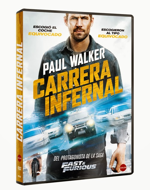 Carrera infernal poster película