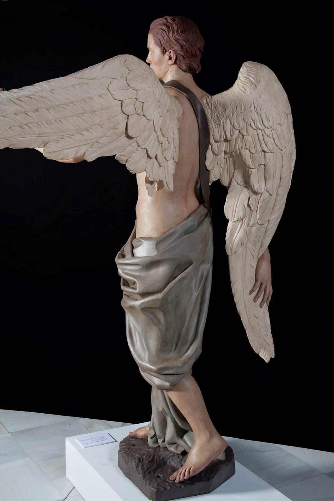 Ángel Semana Santa Tobarra escultura 6