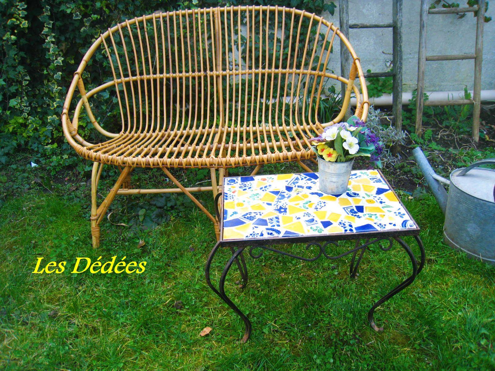 Les dedees vintage recup creations TABLE BASSE AU CARACTERE